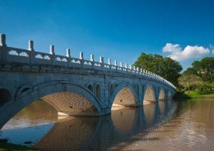 アーチ橋の写真