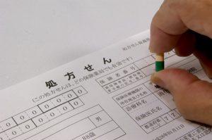 横浜市西区の整骨院「宮谷小交差点前せいこついん」の処方箋のイメージ