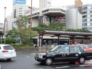 横浜市西区の整骨院「宮谷小交差点前せいこついん」への順路(横浜駅のタクシーロータリー)