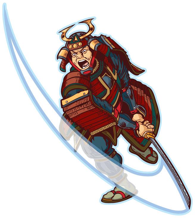 武士のイメージ