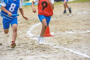 オスグット(成長痛)・ジャンパー膝の整骨院「宮谷小交差点前せいこついん」のオスグット・成長痛の膝に痛みが出やすい走り方の写真