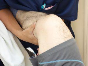 膝の痛み治療の整骨院「宮谷小交差点前せいこついん」の膝の痛みを治療するイメージ2