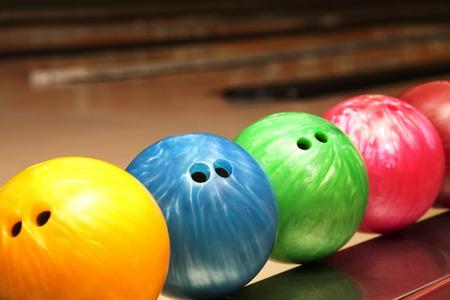 ボーリングの球の写真