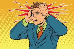 頭痛・片頭痛(偏頭痛)治療の整骨院「宮谷小交差点前せいこついん」のクモ膜下出血や脳腫瘍が原因で激しい頭痛のイメージ